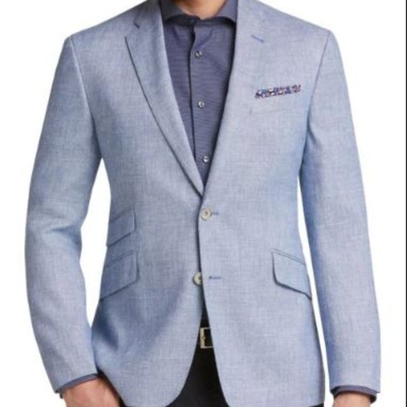 Joseph Abboud Other - JOE Joseph Abboud 52R Blue Tic Slim Fit Sport Coat